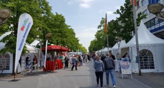 Große Wohnungsbörse in der Duisburger Innenstadt